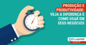 Produção e produtividade